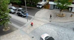 Pedestian friendly streetscape video click image